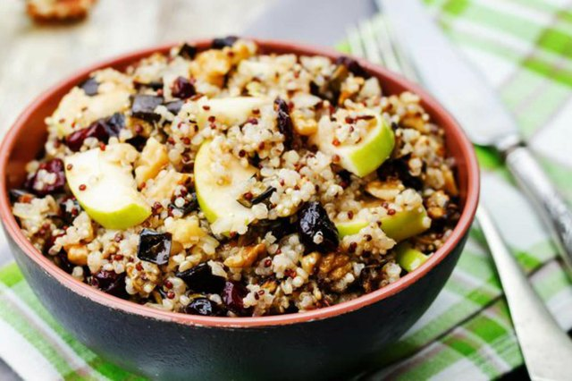 Quinoa Porridge high protein breakfast