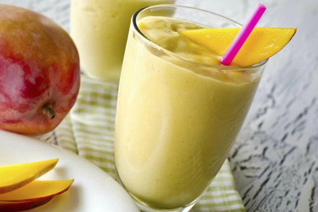 Sunrise Smoothie high protein breakfast