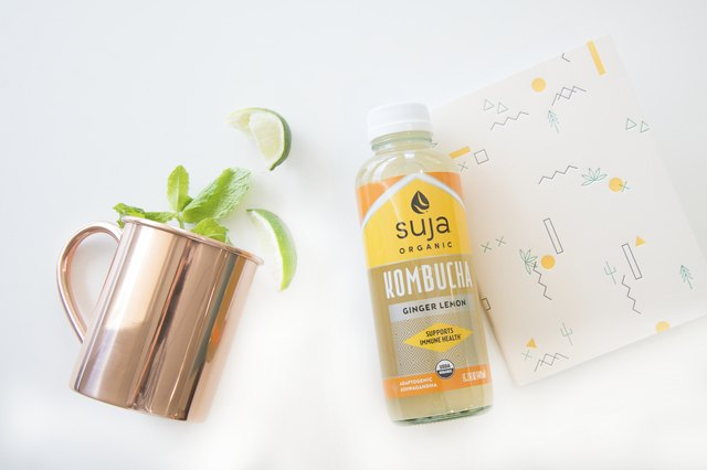 Suja Ginger Lemon Kombucha