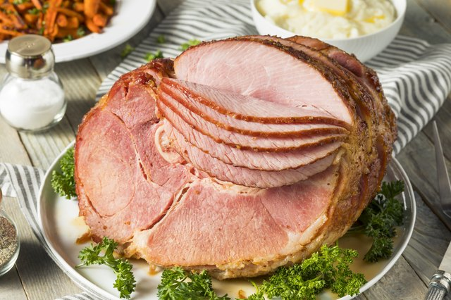 Homemade Glazed Easter Spiral Cut Ham