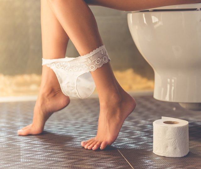 Frequency of pooping changes from person to person.