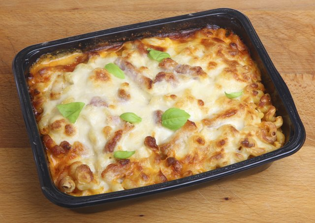 Baked Pasta Ready Meal