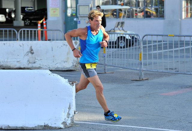 Ultra-marathoner Dean Karnazes Kicks Off The 10th Annual URBANATHLON In San Francisco At AT&T Park Featuring Seiko, Six Star, And Propel Electrolyte Water
