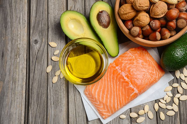 Selection of healthy fat sources