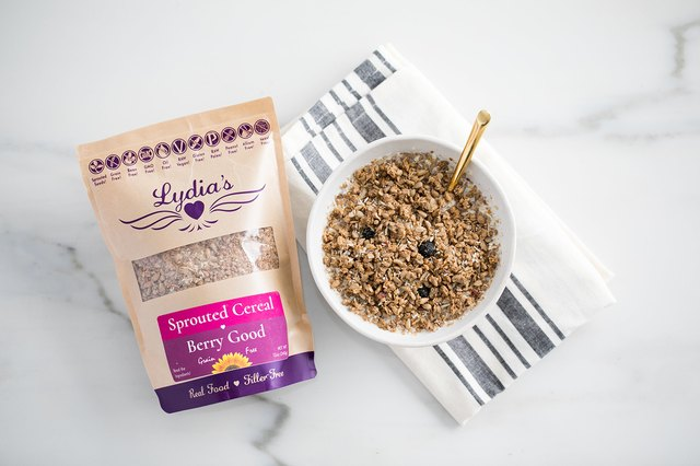 Lydia's Organics Berry Good Sprouted Cereal