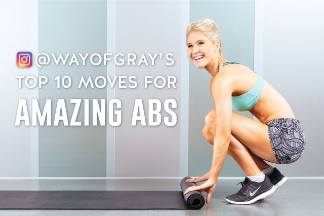 @wayofgray shows us her fave ab moves